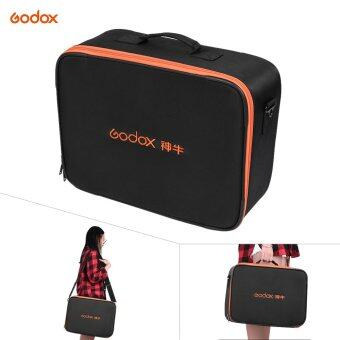 Harga Godox Studio Flash Strobe Padded Hard Carrying Storage Bag Case Black for Godox AD600/AD360 Series Flash and Other Brand Outdoor Flash Accessory - intl