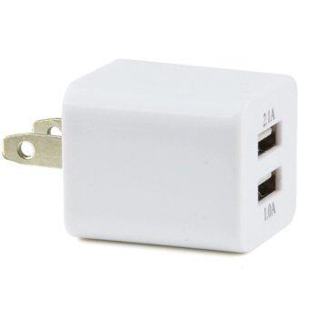 Harga I-Gou Dual Port Usb 2.1A 10W Ac Travel Wall Charger For Iphone 4/4S/5/5S Ipad /samsung( White )