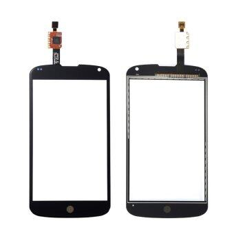 Harga For LG Google Nexus 4 E960 Black Glass Panel Digitizer Connector Replacement Parts +Sticker+Tools - intl
