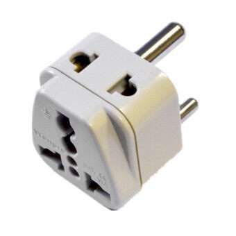 Harga 2 in 1 Plug Adapter Type D