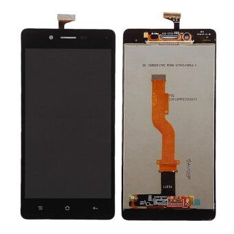 Harga For OPPO A33 LCD Display Touch Screen with Digitizer Full Assembly Replacement, Black - intl