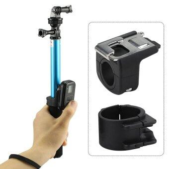 Harga For Gopro Remote Control Mount Pole Buckle Holder for GoPro 4 3 5 HERO4 HERO5 3+ Session Gopro Monopod Selfie Stick WIFI Remoter - intl