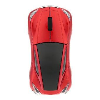 Harga 2.4GHz Wireless Racing Car Shaped Optical USB Mouse/Mice 3D 3 Buttons 1000 DPI/CPI for PC Laptop Desktop