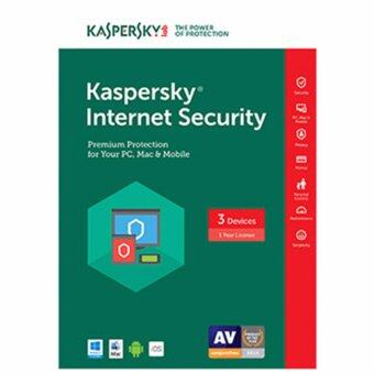 Harga KASPERSKY SOFTWARE INTERNET SECURITY 2017 (3 USER)