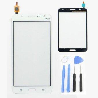 Harga For Samsung Galaxy J7 J700 J700F J700H White Touch Glass Lens Panel Screen Digitizer Replacement Parts+tools+Adhesive - intl