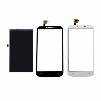 Harga For Alcatel One Touch Pop C9 OT7047 7047 7047D LCD Display Screen+Touch Glass Assembly, White - intl