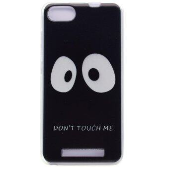 Harga Pattern Printing TPU Phone Case for Wiko Lenny 3 - Do not Touch Me - intl