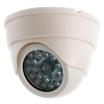 Harga Fake Dummy Waterproof CCTV Camera Home Dome Security Surveillance LED System - intl