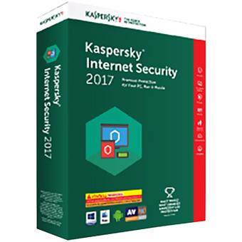 Harga KASPERSKY SOFTWARE INTERNET SECURITY 2017 (1 USER)