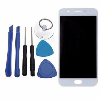 Harga For OPPO F1s A59 A1601 LCD Display With Touch Screen Digitizer Sensor Assembly Original Replacement Parts, White - intl