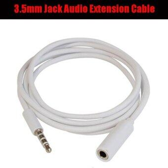 Harga 3.5mm Jack Male to Female Headphone Cord Audio Extension Cable Adapter Extender Wire for Phone Mp3 Mp4 - intl
