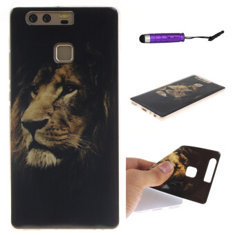 Harga Flexible TPU Case for Huawei P9 (Lion)