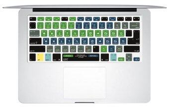 "Harga HRH Serato DJ Shortcuts Hotkeys Rubber Keyboard Cover Keypad Skin Protective Film for Macbook Pro Retina Air 13"" 15"" 17"" A1278 ( US and EU) - Intl"