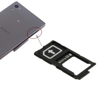 Harga IPartsBuy Micro SD Card Tray For Sony Xperia Z4 / Z3+ and Z5 - intl