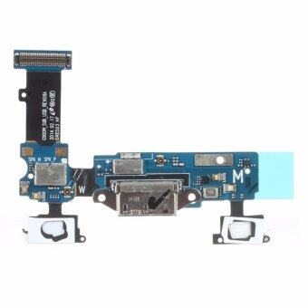 Harga For Samsung Galaxy S5 i9600 G900F Charging USB Port Dock Ribbon Flex Cable Sensor Headphone Jack dock connector replacement - intl