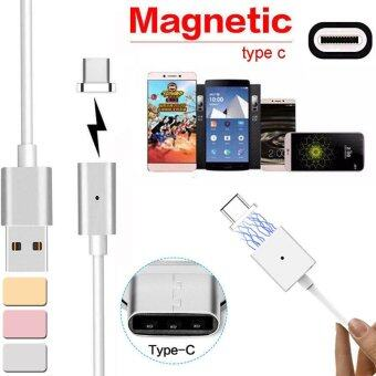 Harga Magnetic USB Charger Cord Sync Data Cable Type-C For Android Rose Gold - intl