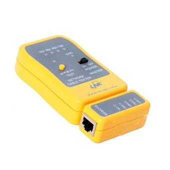 Harga LINK Network Cable Tester US-8010 (เหลือง)