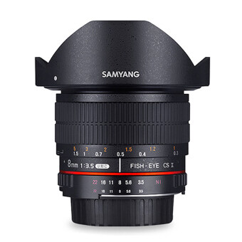 Harga Samyang 8mm F3.5 AS UMC Fisheye CS II for Nikon