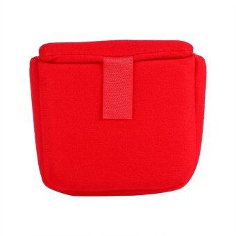 Justgogo DSLR Camera Case Shockproof Protective Bag (red)