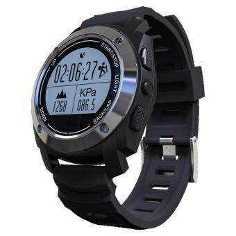 leegoalProfessional Sports GPS Smart Watch Pressure Temperature High Heart Rate Riding Mountaineering Running Step Positioning - Black