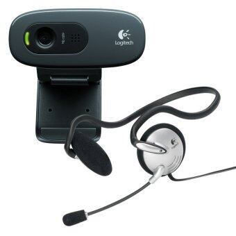 Logitech HD Webcam C270h +Stereo Headset