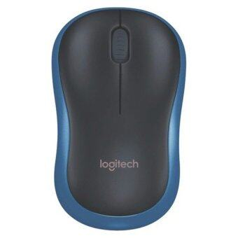 Logitech Wireless Mouse M185 (Blue)