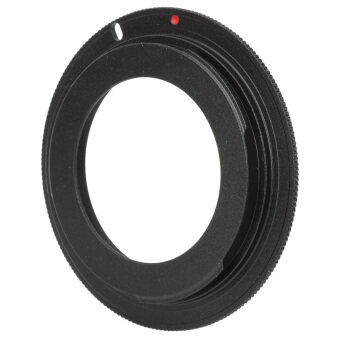 M42 Screw Mount Lens to Canon EOS Body Adapter Ring (Black)