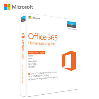Microsoft Office 365 Home 32-bit/x64 P2