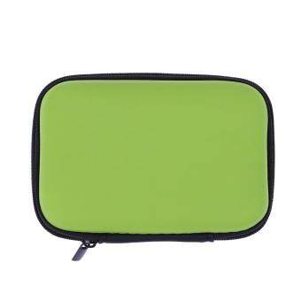 Mini Square EVA Case Headset Cable Storage Box(Green) - Intl
