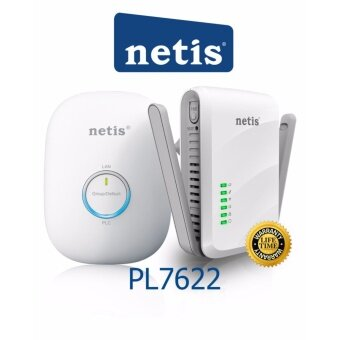 Netis PL7622 Kit 300Mbps AV600 Wireless Powerline Adapter Kit