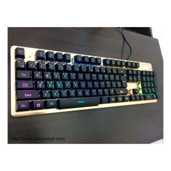 NUBWO MAJESTIC Semi Mechanical switch Gaming Keyboard รุ่น NK-45