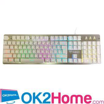 Nubwo MAJESTIC Semi Mechanical switch Gaming Keyboard รุ่น NK-45 -(สีขาว)
