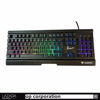 Nubwo NK-55 Phantom Plus Gaming Keyboard Semi Mechanical Blue Switch