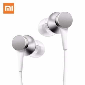 Original Mi Xiaomi Basic Piston V.3 Earphone In-Ear. With Mic-แท้ (White)