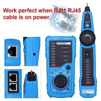 Portable Handheld LAN Telephone Network Cable Wire Line TrackerTester Finder - intl