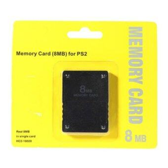 PS2 เมมโมรี่ สำหรับ Save เซฟ เกมส์ของเครื่อง PS2 8MB 8M Memory Card Expansion for Sony Playstation 2 PS2 System Game