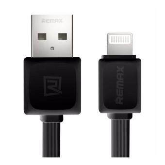 Remax สายชาร์จ รุ่น RC-008i 1M Quick Charge and Data Cable MicroUSB for iPhone 5 / 5C / 5S / 6 / 6 Plus / 7 / 7 Plus/ iPad (ดำ)