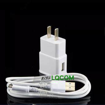 Samsung ชาร์ต+สาย Galaxy note 2 note 3 note 4/S4/S5/S6/A9 Micro USB Data Cable + Home Wall Charger
