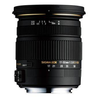 Sigma EX DC OS HSM Lens 17-50mm f/2.8 for Canon - intl