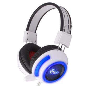 SIGNO HEADSET HP-805 (WHITE+BLUE)