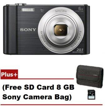 Sony Cyber-Shot รุ่น DSC-W810/B - Black (Free SD Card 8 GB + CameraBag