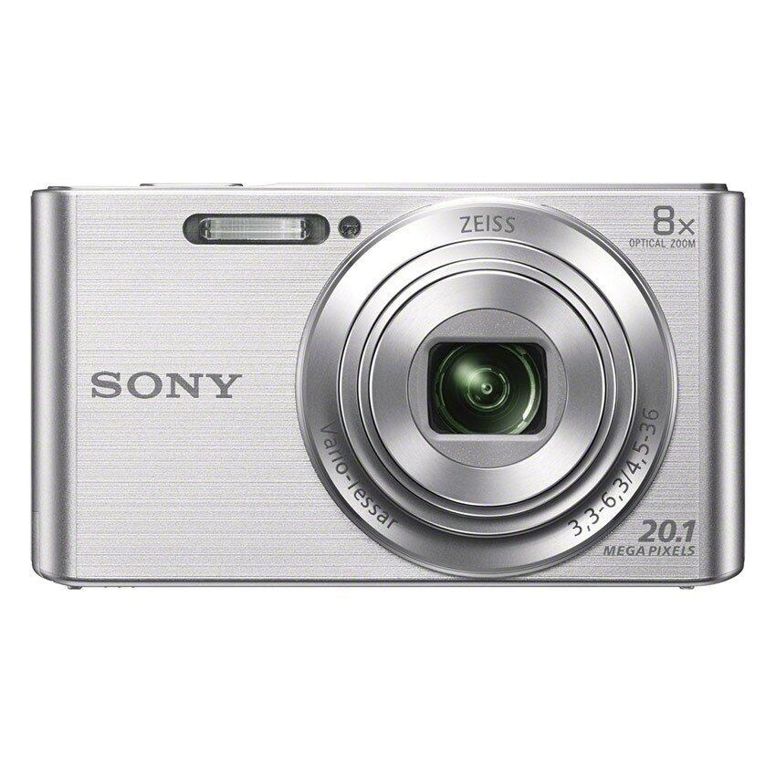 Sony DSC-W830 Compact Camera with 8x Optical Zoom - Silver