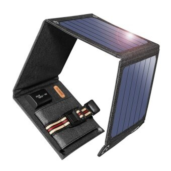 Suaoki 14W Solar Charger With Portable SunPower Solar Panels - intl
