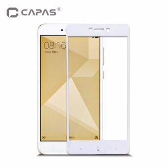 Tempered Glass for Xiaomi Redmi 4X Screen Protector Almost FullCover Protective Film - intl