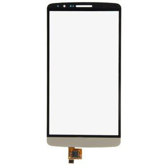 Top Outer Touch Screen Digitizer Glass Parts For LG G3 D850 D855D857 D859 (Gold)- - intl