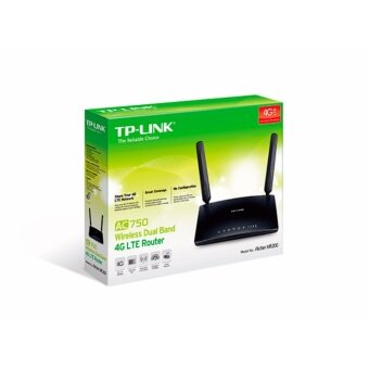 TP-LINK Archer MR200 AC750 Wireless Dual Band 3G/4G LTE Router
