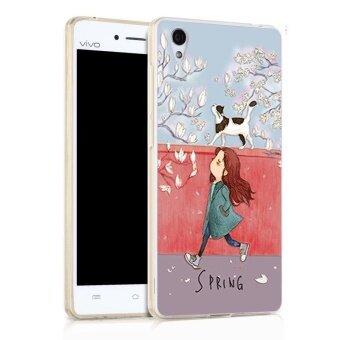 TPU Soft Phone Case for VIVO Y51 (Multicolor)