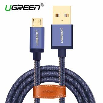 UGREEN Micro USB 2.0 Cable Denim Braided Sync and Fast ChargingData Cable for Android Mobile Phone