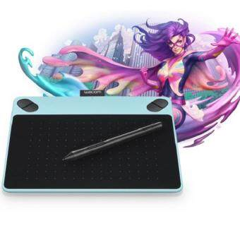 Wacom Intuos Comic Pen & Touch Tablet Small CTH-490/B1-CXMint-Blue - สีฟ้ามิ้น