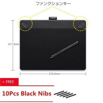 Wacom Intuos CTH-690 / K1-C Intuos Comic M Medium Touch AnimationIntuos Hand Drawing Drawing Electronic Writing Board (Black) - intl